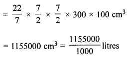 ML Aggarwal Class 8 Solutions for ICSE Maths Chapter 18 Mensuration Ex 18.3 Q12.1