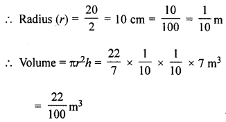 ML Aggarwal Class 8 Solutions for ICSE Maths Chapter 18 Mensuration Ex 18.3 Q14.1
