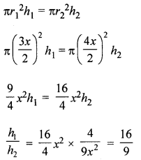 ML Aggarwal Class 8 Solutions for ICSE Maths Chapter 18 Mensuration Ex 18.3 Q9.1