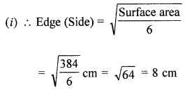 ML Aggarwal Class 8 Solutions for ICSE Maths Chapter 18 Mensuration Ex 18.4 Q1.1