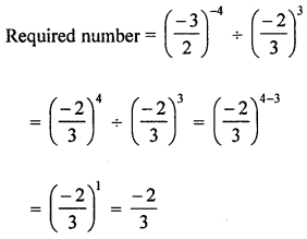 ML Aggarwal Class 8 Solutions for ICSE Maths Chapter 2 Exponents and Powers Check Your Progress Q10.1