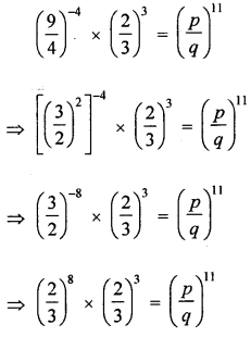 ML Aggarwal Class 8 Solutions for ICSE Maths Chapter 2 Exponents and Powers Check Your Progress Q13.1