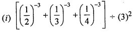 ML Aggarwal Class 8 Solutions for ICSE Maths Chapter 2 Exponents and Powers Check Your Progress Q2.1