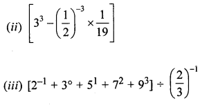 ML Aggarwal Class 8 Solutions for ICSE Maths Chapter 2 Exponents and Powers Check Your Progress Q2.2