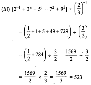 ML Aggarwal Class 8 Solutions for ICSE Maths Chapter 2 Exponents and Powers Check Your Progress Q2.4