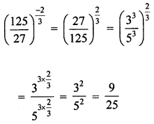 ML Aggarwal Class 8 Solutions for ICSE Maths Chapter 2 Exponents and Powers Check Your Progress Q3.1