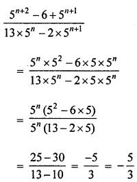ML Aggarwal Class 8 Solutions for ICSE Maths Chapter 2 Exponents and Powers Check Your Progress Q5.1