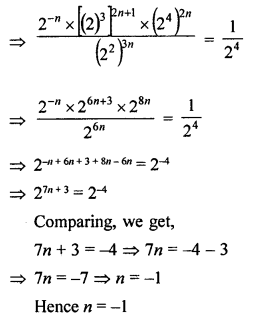 ML Aggarwal Class 8 Solutions for ICSE Maths Chapter 2 Exponents and Powers Check Your Progress Q8.2