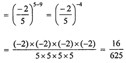ML Aggarwal Class 8 Solutions for ICSE Maths Chapter 2 Exponents and Powers Check Your Progress Q9.2