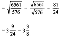 ML Aggarwal Class 8 Solutions for ICSE Maths Chapter 3 Squares and Square Roots Check Your Progress Q13.3
