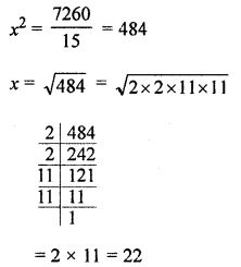 ML Aggarwal Class 8 Solutions for ICSE Maths Chapter 3 Squares and Square Roots Ex 3.3 Q11.1
