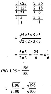 ML Aggarwal Class 8 Solutions for ICSE Maths Chapter 3 Squares and Square Roots Ex 3.3 Q3.4
