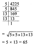 ML Aggarwal Class 8 Solutions for ICSE Maths Chapter 3 Squares and Square Roots Ex 3.3 Q7.1