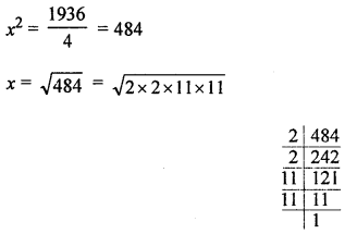 ML Aggarwal Class 8 Solutions for ICSE Maths Chapter 3 Squares and Square Roots Ex 3.3 Q8.1