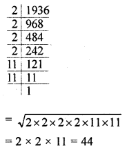 ML Aggarwal Class 8 Solutions for ICSE Maths Chapter 3 Squares and Square Roots Ex 3.3 Q9.1