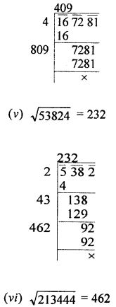 ML Aggarwal Class 8 Solutions for ICSE Maths Chapter 3 Squares and Square Roots Ex 3.4 Q1.3