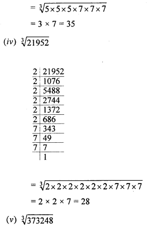 ML Aggarwal Class 8 Solutions for ICSE Maths Chapter 4 Cubes and Cube Roots Ex 4.2 Q1.3