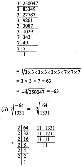 ML Aggarwal Class 8 Solutions for ICSE Maths Chapter 4 Cubes and Cube Roots Ex 4.2 Q3.2