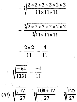 ML Aggarwal Class 8 Solutions for ICSE Maths Chapter 4 Cubes and Cube Roots Ex 4.2 Q3.3