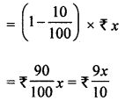 ML Aggarwal Class 8 Solutions for ICSE Maths Chapter 7 Percentage Check Your Progress Q8.1