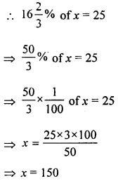 ML Aggarwal Class 8 Solutions for ICSE Maths Chapter 7 Percentage Ex 7.1 Q10.1