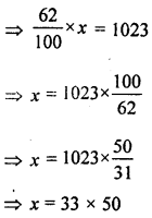 ML Aggarwal Class 8 Solutions for ICSE Maths Chapter 7 Percentage Ex 7.1 Q14.1