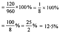 ML Aggarwal Class 8 Solutions for ICSE Maths Chapter 7 Percentage Ex 7.1 Q15.1