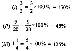 ML Aggarwal Class 8 Solutions for ICSE Maths Chapter 7 Percentage Ex 7.1 Q2.2