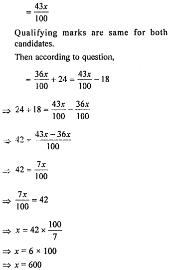 ML Aggarwal Class 8 Solutions for ICSE Maths Chapter 7 Percentage Ex 7.1 Q24.2