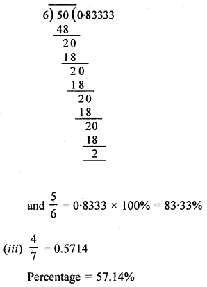ML Aggarwal Class 8 Solutions for ICSE Maths Chapter 7 Percentage Ex 7.1 Q4.3