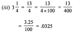 ML Aggarwal Class 8 Solutions for ICSE Maths Chapter 7 Percentage Ex 7.1 Q6.2