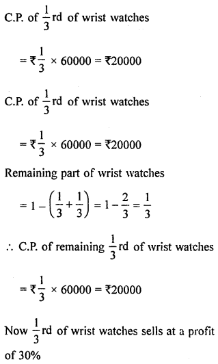 ML Aggarwal Class 8 Solutions for ICSE Maths Chapter 7 Percentage Ex 7.2 Q13.1