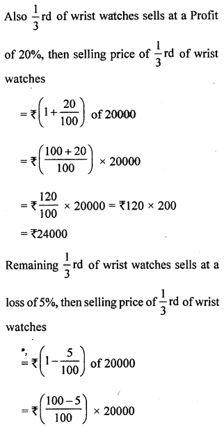 ML Aggarwal Class 8 Solutions for ICSE Maths Chapter 7 Percentage Ex 7.2 Q13.3