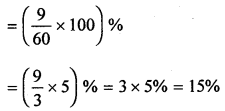 ML Aggarwal Class 8 Solutions for ICSE Maths Chapter 7 Percentage Ex 7.2 Q13.5