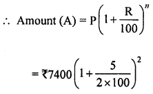 ML Aggarwal Class 8 Solutions for ICSE Maths Chapter 8 Simple and Compound Interest Check Your Progress Q2.1