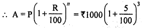 ML Aggarwal Class 8 Solutions for ICSE Maths Chapter 8 Simple and Compound Interest Check Your Progress Q4.1