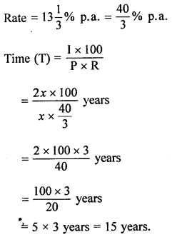 ML Aggarwal Class 8 Solutions for ICSE Maths Chapter 8 Simple and Compound Interest Ex 8.1 Q6.1