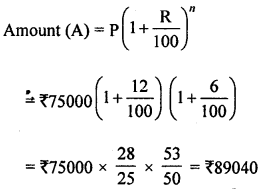 ML Aggarwal Class 8 Solutions for ICSE Maths Chapter 8 Simple and Compound Interest Ex 8.3 Q6.1