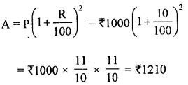 ML Aggarwal Class 8 Solutions for ICSE Maths Chapter 8 Simple and Compound Interest Objective Type Questions mul Q3.1