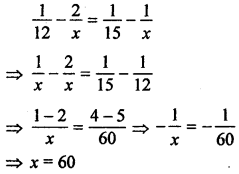 ML Aggarwal Class 8 Solutions for ICSE Maths Chapter 9 Direct and Inverse Variation Check Your Progress Q12.1