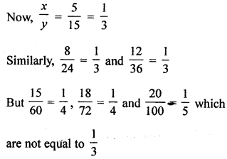 ML Aggarwal Class 8 Solutions for ICSE Maths Chapter 9 Direct and Inverse Variation Ex 9.1 Q1.1