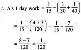 ML Aggarwal Class 8 Solutions for ICSE Maths Chapter 9 Direct and Inverse Variation Ex 9.3 Q10.1