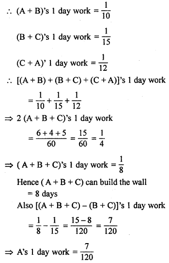 ML Aggarwal Class 8 Solutions for ICSE Maths Chapter 9 Direct and Inverse Variation Ex 9.3 Q21.1