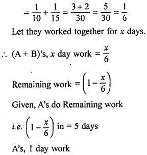 ML Aggarwal Class 8 Solutions for ICSE Maths Chapter 9 Direct and Inverse Variation Ex 9.3 Q6.1