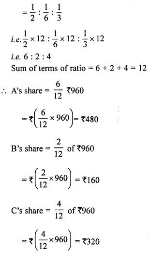 ML Aggarwal Class 8 Solutions for ICSE Maths Chapter 9 Direct and Inverse Variation Ex 9.3 Q9.1