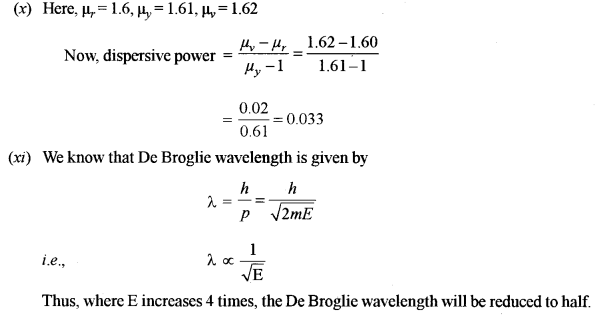 ISC Physics Question Paper 2010 Solved for Class 12 6