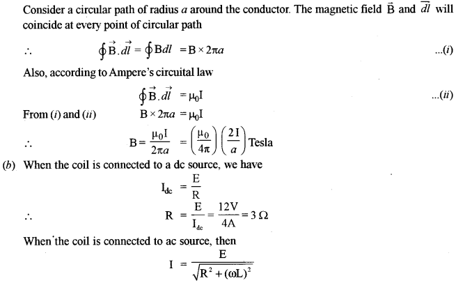 ISC Physics Question Paper 2011 Solved for Class 12 22