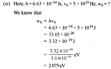 ISC Physics Question Paper 2012 Solved for Class 12 10