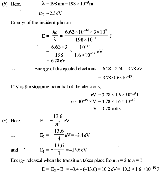 ISC Physics Question Paper 2012 Solved for Class 12 40