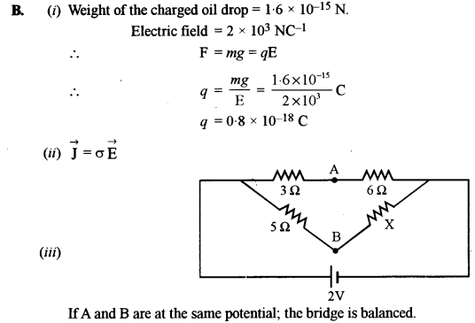 ISC Physics Question Paper 2016 Solved for Class 12 5